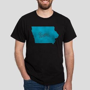 State Iowa Dark T-Shirt