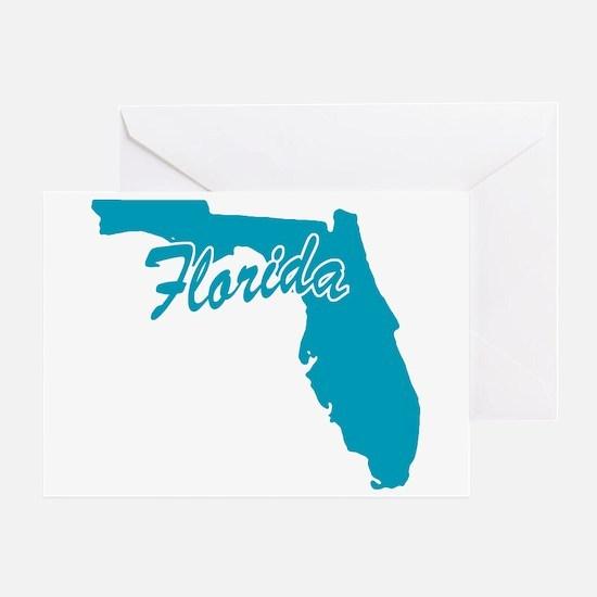 State Florida Greeting Card