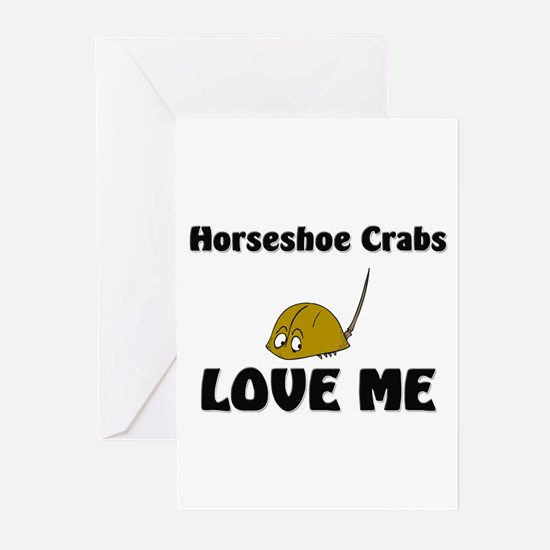 Horseshoe Crabs Love Me Greeting Cards (Pk of 10)