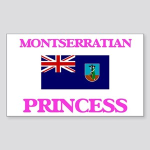 Montserratian Princess Sticker