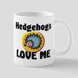 Hedgehogs Love Me Mug