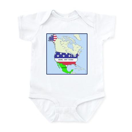 funny mexico america map infant bodysuit baby light bodysuit cafepresscom