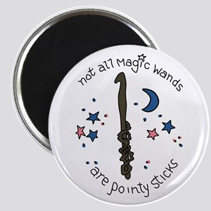 Crochet Hook Magic Wand Magnets