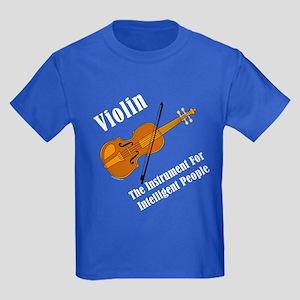 Intelligent Violin Kids Dark T-Shirt