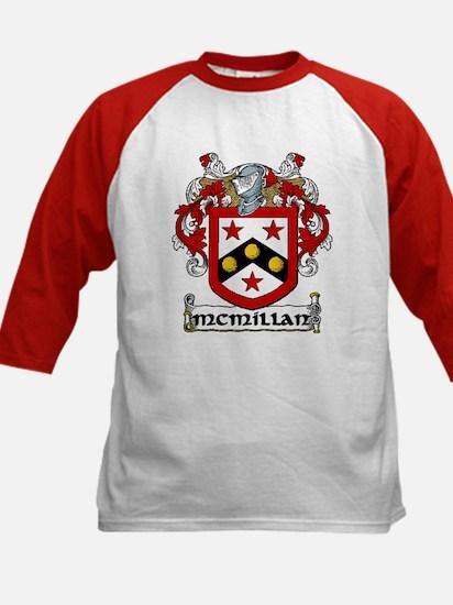 McMillan Coat of Arms Kids Baseball Jersey
