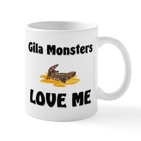 Gila Monsters Love Me Mug