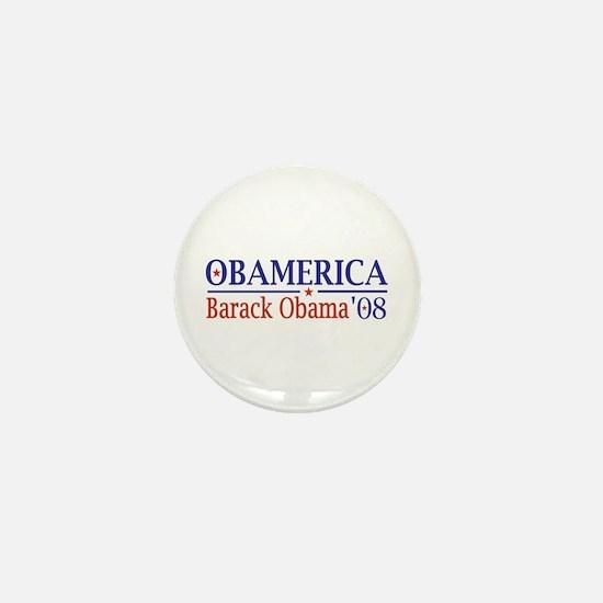 Obamerica (Obama '08) Mini Button