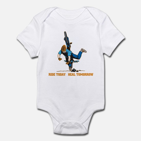 Ride Today Biking Infant Bodysuit