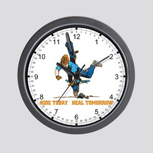 Ride Today Biking Wall Clock
