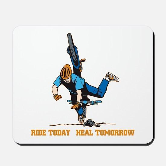 Ride Today Biking Mousepad