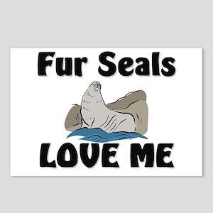 Fur Seals Love Me Postcards (Package of 8)