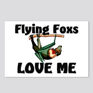 Flying Foxs Love Me Postcards (Package of 8)