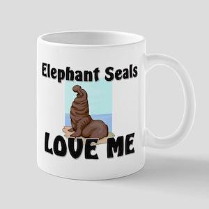 Elephant Seals Love Me Mug