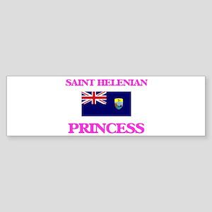 Saint Helenian Princess Bumper Sticker