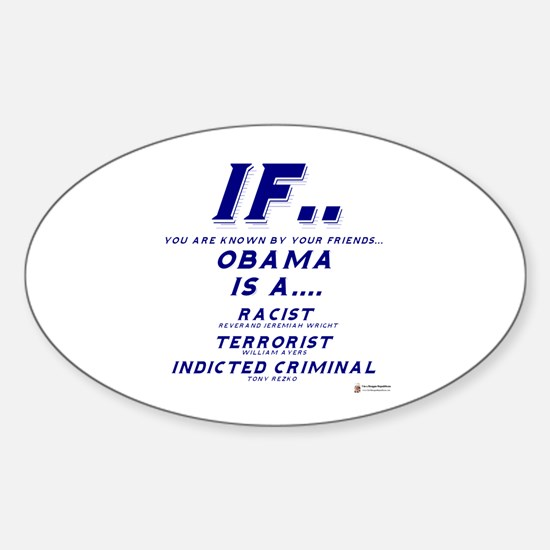 Known by your friends Oval Decal