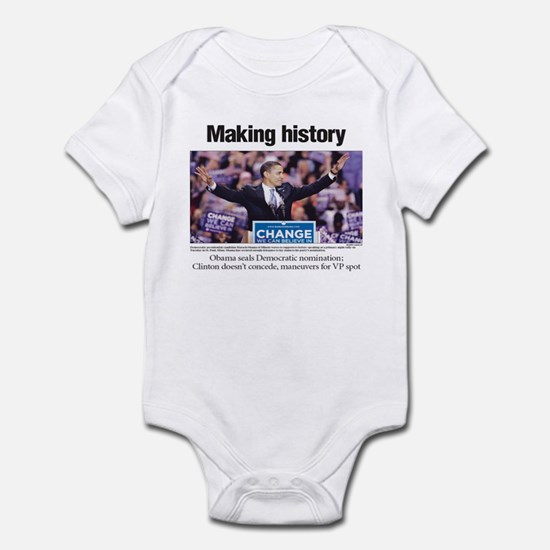 Making History: Obama Clinches Nomination Infant B