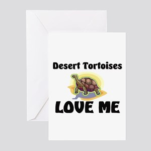 Desert Tortoises Love Me Greeting Cards (Pk of 10)
