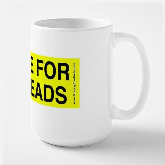 I Brake for Buttheads mug