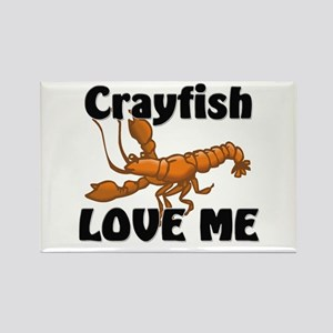 Crayfish Love Me Rectangle Magnet