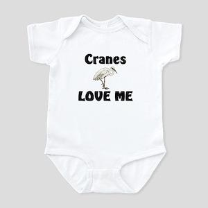 Cranes Love Me Infant Bodysuit