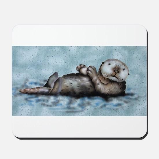 Sea Otter Mousepad