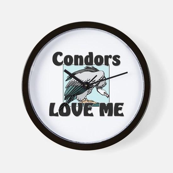 Condors Love Me Wall Clock