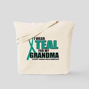 OC: Teal For Grandma Tote Bag