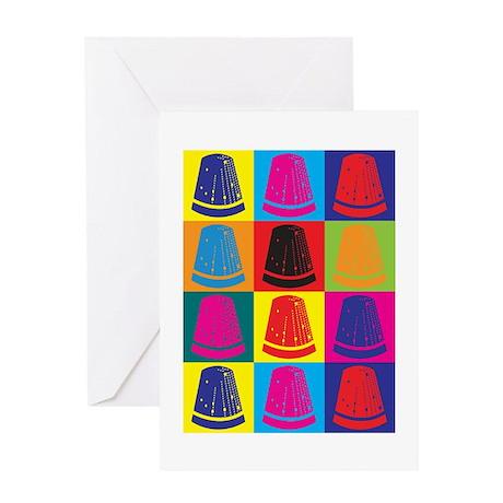 Sewing Pop Art Greeting Card