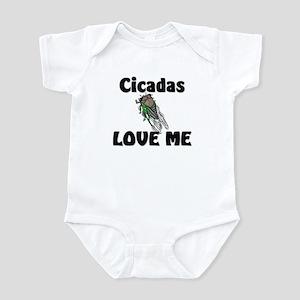 Cicadas Love Me Infant Bodysuit