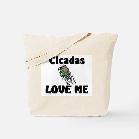 Cicadas Love Me Tote Bag