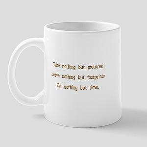 Pictures, Footprints Mug