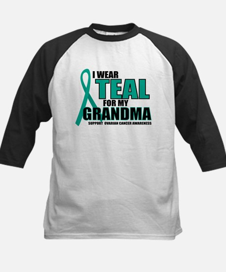 OC: Teal For Grandma Kids Baseball Jersey