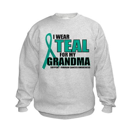 OC: Teal For Grandma Kids Sweatshirt