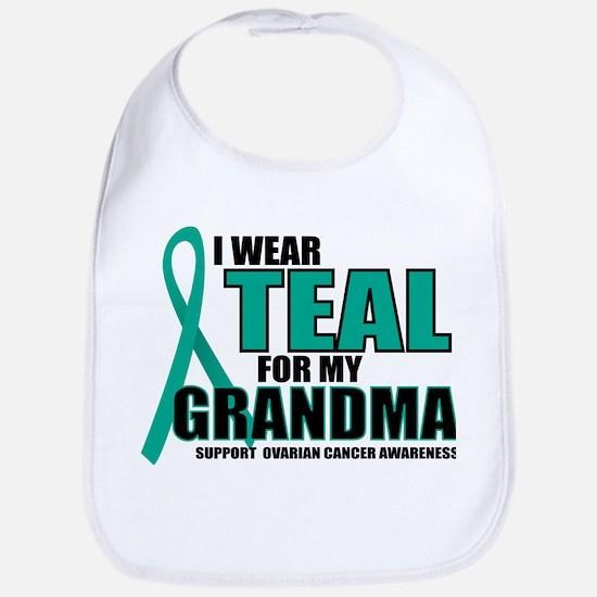 OC: Teal For Grandma Bib