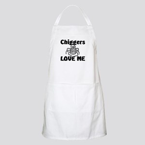 Chiggers Love Me BBQ Apron