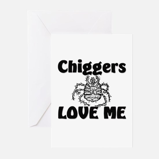 Chiggers Love Me Greeting Cards (Pk of 10)