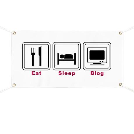 Eat Sleep Blog Banner