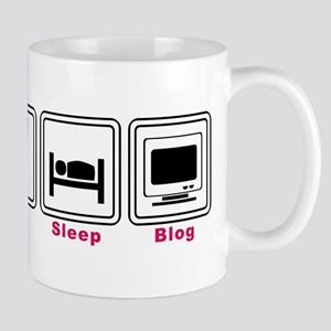 Eat Sleep Blog Mug