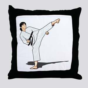Side Kick Throw Pillow
