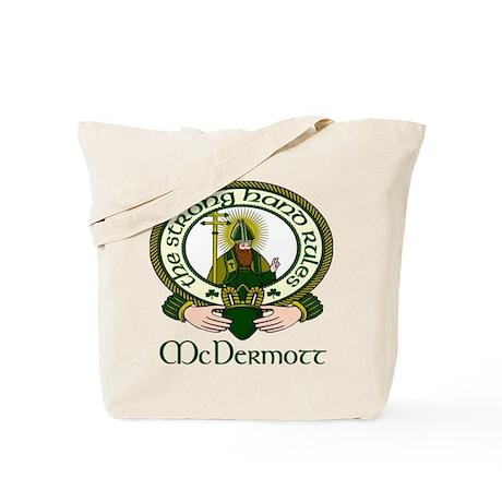 McDermott Clan Motto Tote Bag