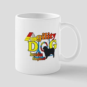 Australian Shepherd Agility 11 oz Ceramic Mug
