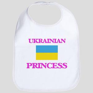Ukrainian Princess Baby Bib