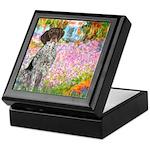 Garden/German Pointer Keepsake Box