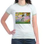 Garden/German Pointer Jr. Ringer T-Shirt