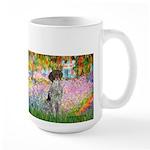 Garden/German Pointer Large Mug