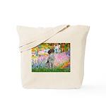 Garden/German Pointer Tote Bag