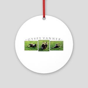 Gypsy Vanner Horse Ornament (Round)