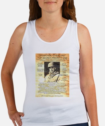 General Omar Bradley Women's Tank Top