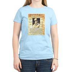 General Omar Bradley Women's Light T-Shirt