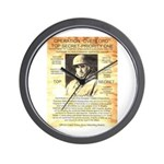 General Omar Bradley Wall Clock